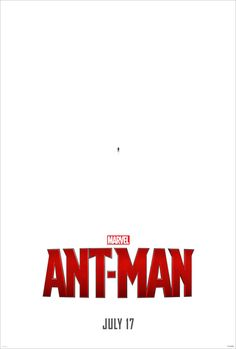 Ant man movie poster for ants?