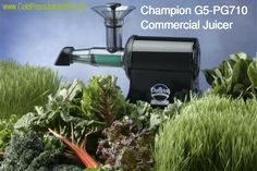 Champion G5-PG710 Commercial Juicer Review