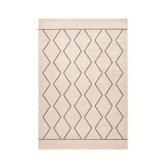 Oliban berber-style rug , black/white, La Redoute Interieurs   La Redoute Human Ecology, Home Furnishing Accessories, Chiffon, Zig Zag Pattern, Special Characters, Contemporary Interior, Colorful Rugs, Modern, Colours