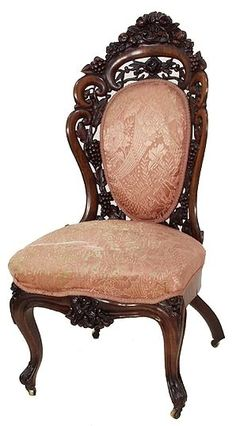 """Victorian J.H. Belter """"Tuthill King"""" Side Chair I am totally in love with this chair......"""