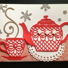 Care for a bit of tea? Card made with Top Dog Dies