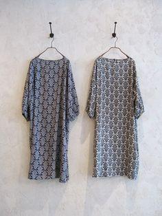toolz - 3/4-sleeve floral print dress