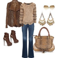 Yes to the sweater, jacket, booties, bag...everything!
