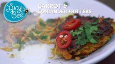 Wistia video thumbnail - Carrot & Coriander Fritters with Feta