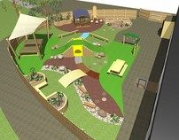 Natural Outdoor Play Space