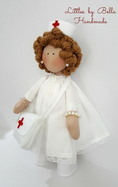Graduation gifts blonde Nurse doll Graduate gift textile doll nurse gifts  Nurse doll fabric doll nurse fabrics custom doll littles by Bella by littlesbyBella on Etsy https://www.etsy.com/listing/490062516/graduation-gifts-blonde-nurse-doll