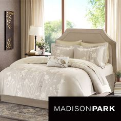 Madison Park Essentials Sonora 9-piece Bed in a Bag with Sheet Set | Overstock.com Shopping - Great Deals on Madison Park Bed-in-a-Bag