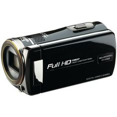 Dad new camcorder occupied the