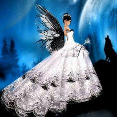fairy and Ooh so pretty she is! Fairy Dust, Fairy Land, Fairy Tales, Magical Creatures, Fantasy Creatures, Fairy Pictures, Love Fairy, Beautiful Fairies, Faeries