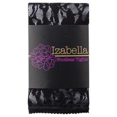 $13.99 -- MUK LUKS® Women's Lace Footless Tights - Black