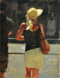 Artist : Aldo Balding Title : Gordienne Media : Original - Oil on Canvas Size : 46 x 36cm Price : POA