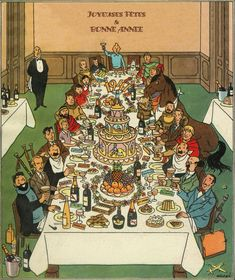 Tintin banquet 1947 #NewYears #new #year