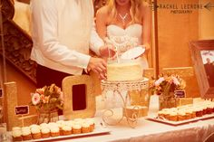 cake table set up