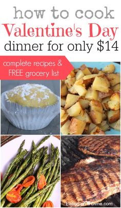 See How You Can Cook Valentines Day Dinner For 2 For Just 14 This Is