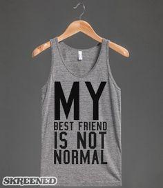 (((Meus amigos não são normais)))