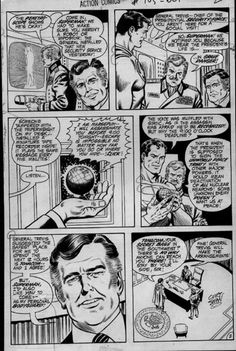 Armand's Rancho Del Cielo: Jack Abel Inks On Curt Swan-Murphy Anderson Superm...