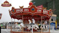 16 seats carousel amusement park rides for sale SINORIDES Amusement Email: sales@sinorides.com  Mobile: 86-13523504956  Tel: 86-0371-60253755  Website: http://www.sinorides4u.com/