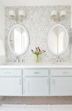 Pretty master vanity makeover by @centsationalgrl