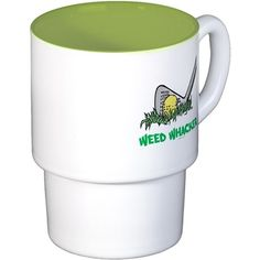 Weed Whacker Sports Coffee Cups on CafePress.com