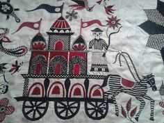 Motif from my bed cover