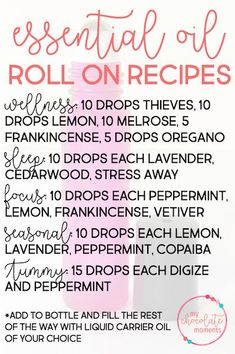 DIY essential oil ro
