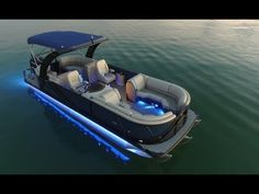 The South Bay is part of a new trend of faster, better handling, more luxurious, and more expensive pontoon boats. Unlike the pontoon boats of old, the. Pontoon Boat Party, Pontoon Boats For Sale, Ski Boats, Cool Boats, Deck Boats, Yacht Boat, Boat Dock, Speed Boats, Power Boats