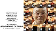 Friday, July 12 - JIRO DREAMS OF SUSHI at Benaki Summer Festival. More info at: www.benakisummerfestival.gr