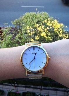 Kup mój przedmiot na #vintedpl http://www.vinted.pl/akcesoria/bizuteria/13948505-zloty-zegarek-geneva-idealny-na-prezent