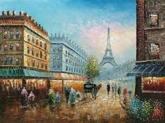 eiffel tower paintings - Google Search
