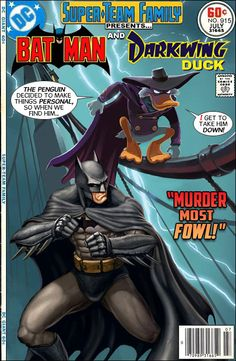 Super-Team Family: The Lost Issues!: Batman and Darkwing Duck