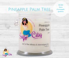 Pineapple Palm Tree Scented Soy Candle Giveaway Open to: United States Ending on: 08/21/2016