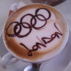 #Olympics! Cafe in Fish Street, Northampton, England @ CushCoffee.com  Click the Pic!
