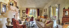 A magnificent estate near Les Baux de Provence, Aix, Avignon and St Rémy de Provence- A beautiful house in the 18th century style- 6 bedrooms, 5 bathrooms, large living room with its conservatory, lovely kitchen ...