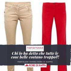 Abbiamo dedicato una sezione intera ai pantaloni estivi. Scopri gli sconti! A partire da 9 euro. https://www.nanarossa.com/it/5867-pantaloni-donna-estivi