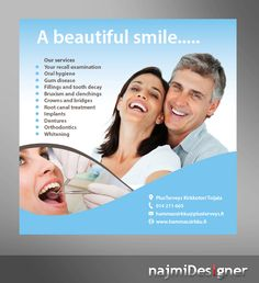 Advertisement Design by  Najmi for Dental care for hole family, announcement in newspaper - Design #10512045