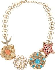 Make the perfect summer statement with the Stella & Dot Birds of Paradise Necklace