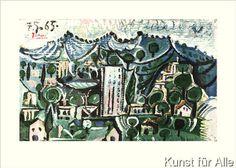 Pablo Picasso - Landschaft