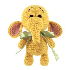 Jim - Crochet elephant. (Inspiration).