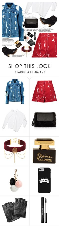 """Untitled #2145"" by anarita11 ❤ liked on Polyvore featuring Boohoo, Valentino, Karen Millen, Dolce&Gabbana, GUESS and Karl Lagerfeld"