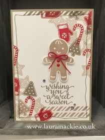 Cookie Cutter Christmas Gingerbread Man Card