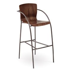 ... of Modern and Classic Design Ideas Of Bar Stools With Backs And Arms