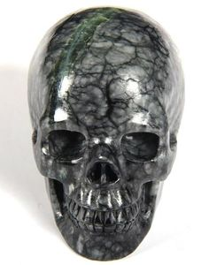 Chinese Picasso Jasper Crystal Skull || Phei/Elyri boneyard remains?