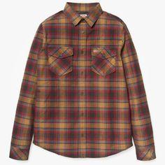 Carhartt L/S Stimbson Shirt Teak check