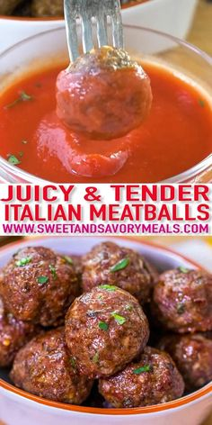 Homemade Meatballs are so simple and easy that you will never ever again use store-bought. dishes Juicy Homemade Meatballs [Video] - Sweet and Savory Meals Recipes Using Bacon, Easy Meat Recipes, Gourmet Recipes, Easy Meals, Cooking Recipes, Healthy Recipes, Meatloaf Recipes, Meat Appetizers, Appetizer Recipes