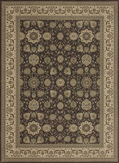 """Loloi Rugs - Stanley - 5'-2"""" X 7'-7"""" - Expresso / Ivory"""