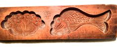 Antique Hand Carved Wooden Candy/Cookie/Cake Mold (7237), Circa Late of 1800