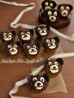 Bären-Cupcakes