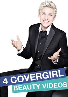 COVERGIRL Ellen DeGeneras is so talented and beautiful! Click to check her out!