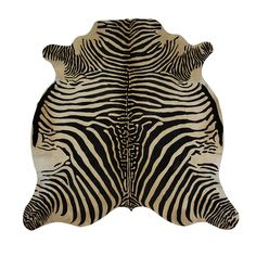 Add a dash of the exotic to the home with this Zebra cowhide rug from Amara. Featuring an eye-catching zebra print, itis in the shape of a natural hide rug and is made from genuine cowhide. The natu