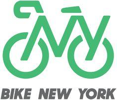 New Logo and Identity for Bike New York by Pentagram